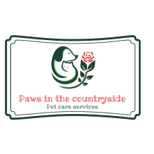Paws in the countryside